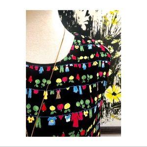 Vintage Dresses - This print tho!!!!!! Vintage Jenny Helene Dress